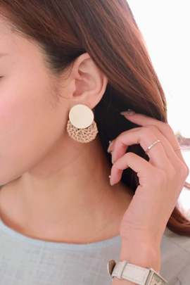 Pregnancy - holiday earring