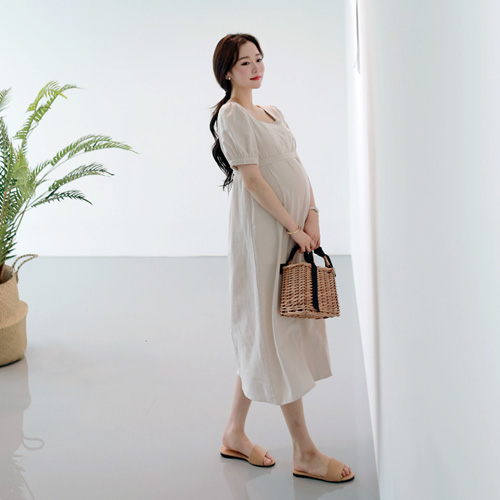 Pregnancy - Square Lines One Piece